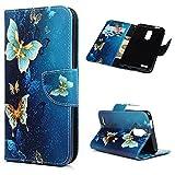 LG K10 2018 Case, LG K30 Case, Flip Folio Wallet