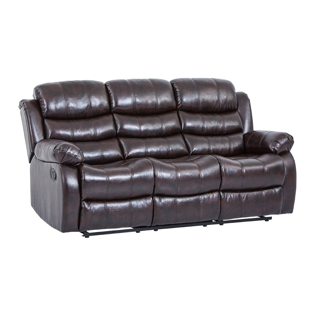 Amazon com bestmassage recliner sofa sectional reclining chair three seat modern furniture set for living room classic and traditional health personal