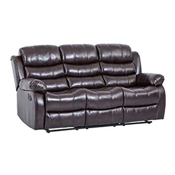 Amazon.com: BestMassage Recliner Sofa Sectional Reclining ...