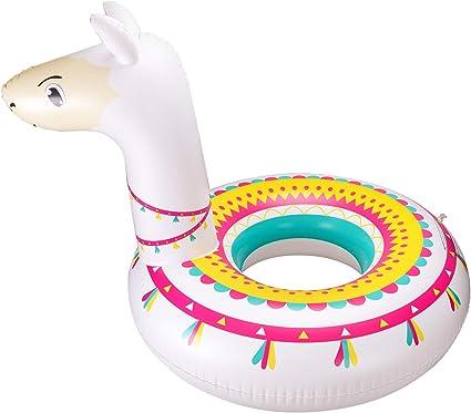 Amazon.com: Llama Flotador de piscina en tubo de fiesta ...