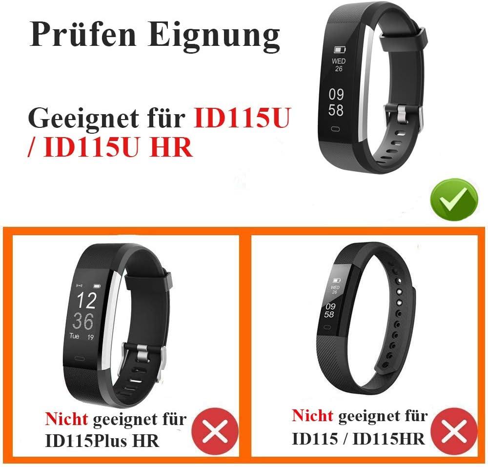 Yiyunte Ersatzarmband Für Fitness Tracker Id115u Computer Zubehör