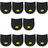 F Fityle 5 Pairs Rubber Glue On Heels Grip Pads Shoe Sole Repair Supply Kit For Men