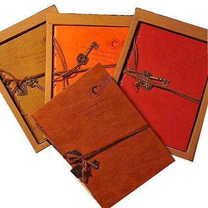 Amazon Com Kitmax Tm Vintage Pu Leather Bound Writing