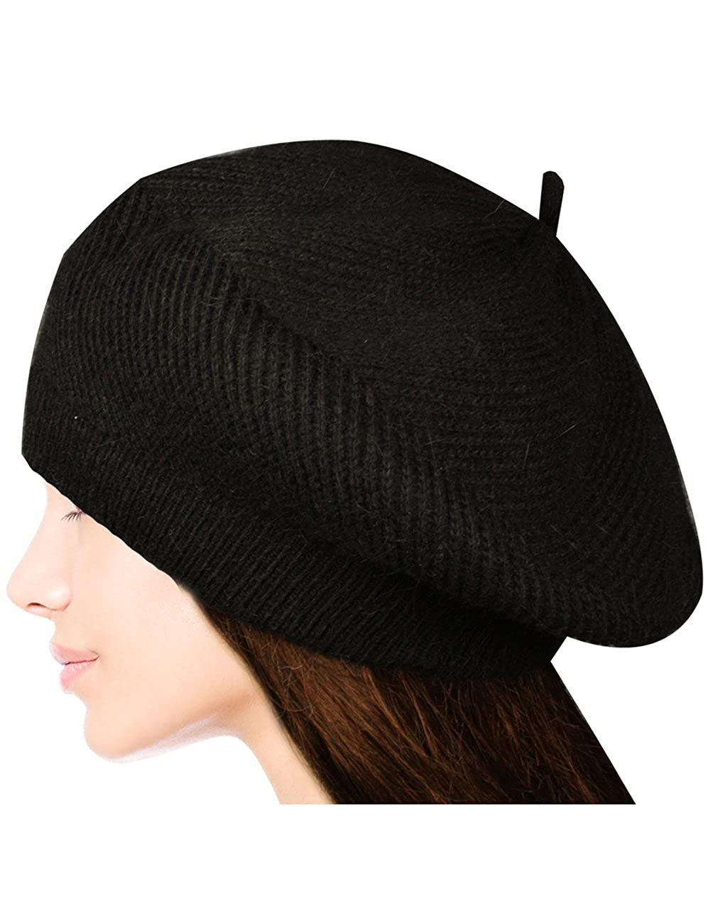 Hat knit quickly, simply, interestingly
