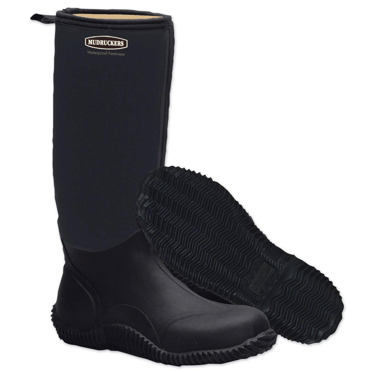 Mudrucker Ladies Tall Boot 5 Black