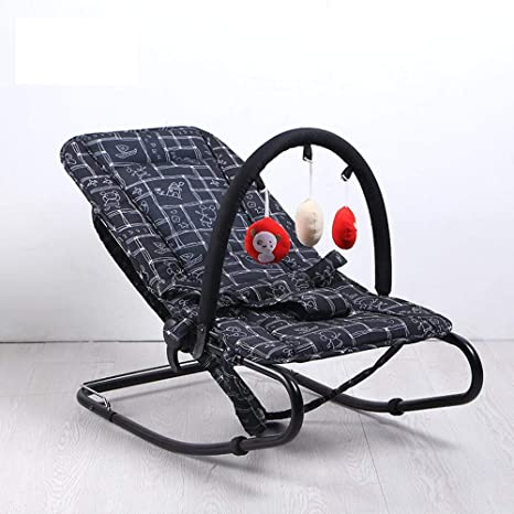 WY-Tong silla bebe Silla mecedora de bebé, bebé suave coctelera ...