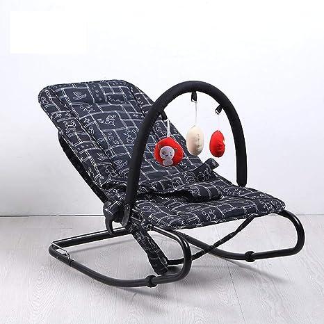 WY-Tong silla bebe Silla mecedora de bebé, bebé suave ...