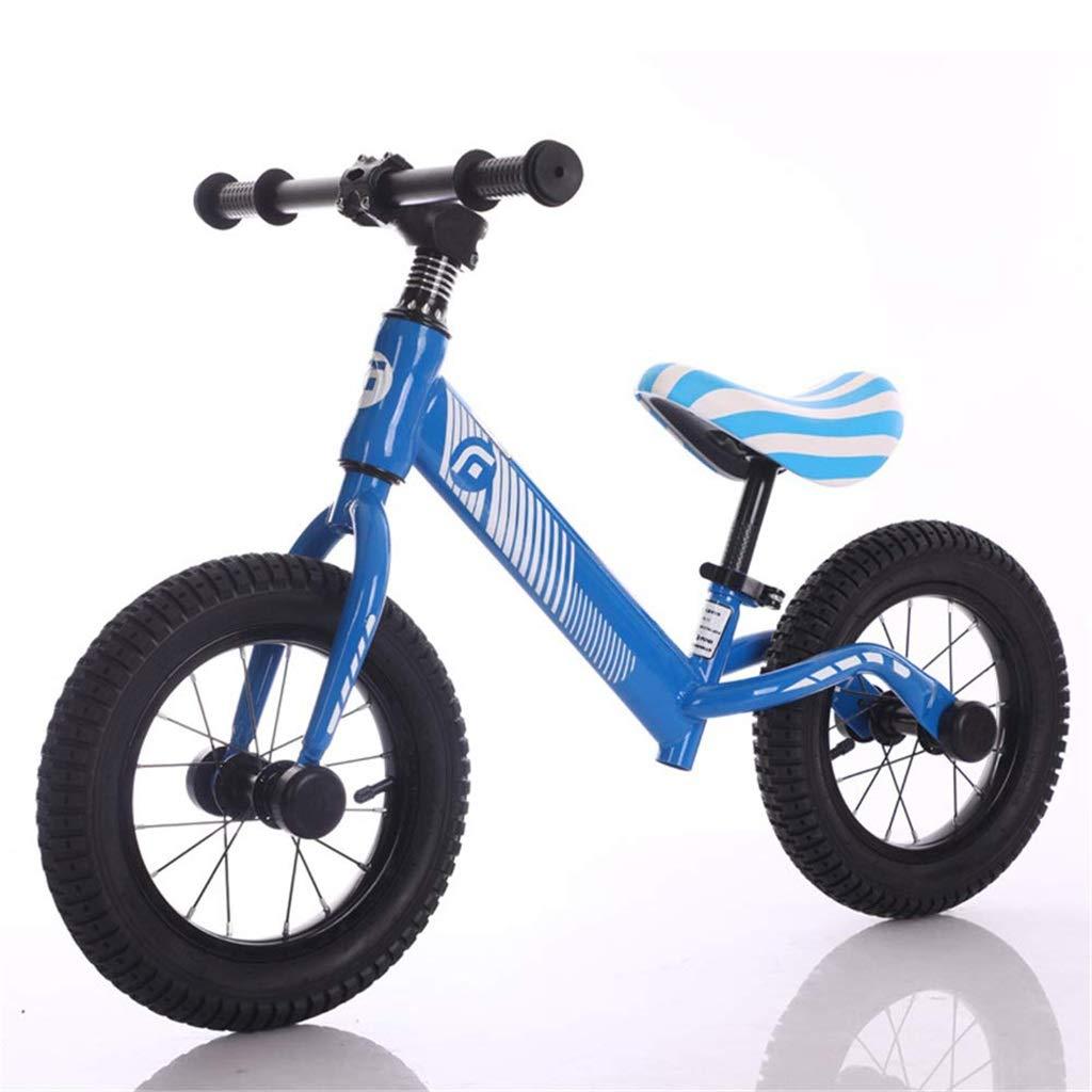 comprar ahora El sabor del hogar Bicicleta de Equilibrio de 12 12 12 Pulgadas, Bicicleta de Equilibrio Bebé Equilibrio for niños Coche de 2-6 años de Edad sin Pedal Bicicleta Deslizante (Color   azul )  Descuento del 70% barato