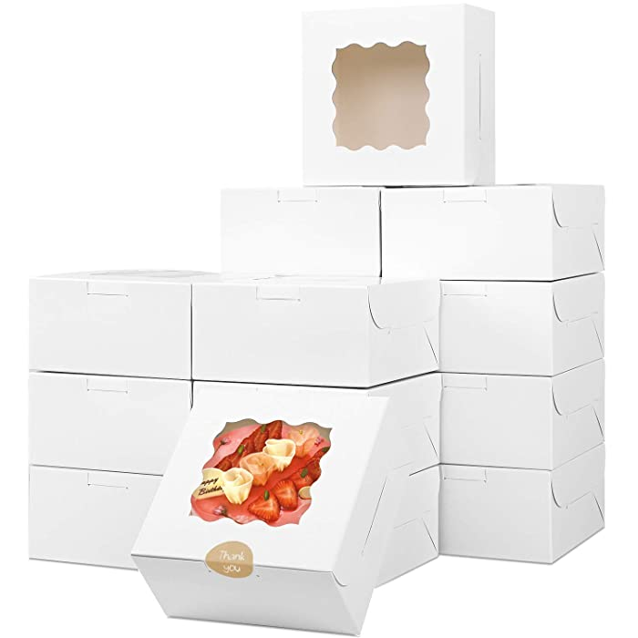 The Best Clear Square Gift Box Flat Food