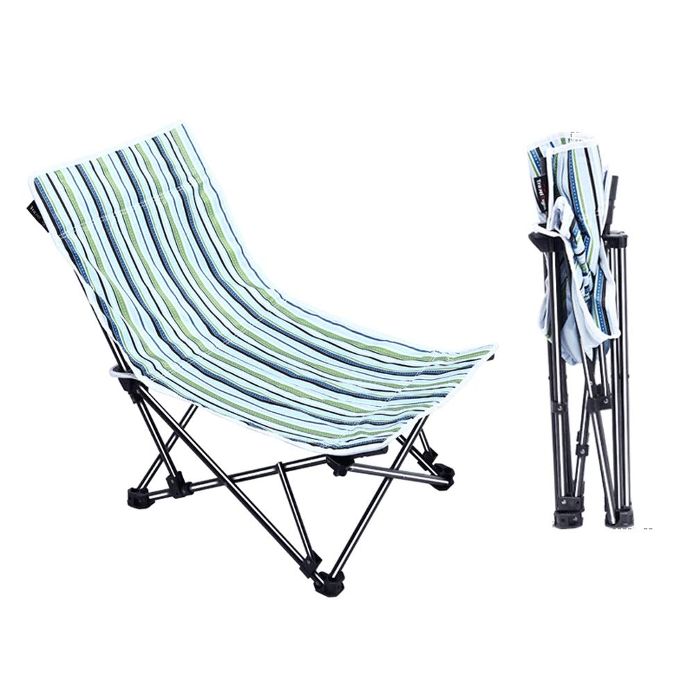 Folding Camping Chair for Outdoor Camping BBQ Beach Travel Picnic Fishing Festival with 1 Storage Carry Bag