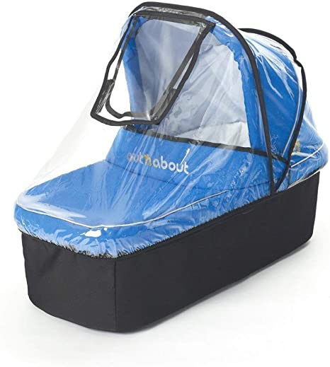 Out N About Nipper V3 V4 Pushchair Pram and Carry Cot XL Raincover