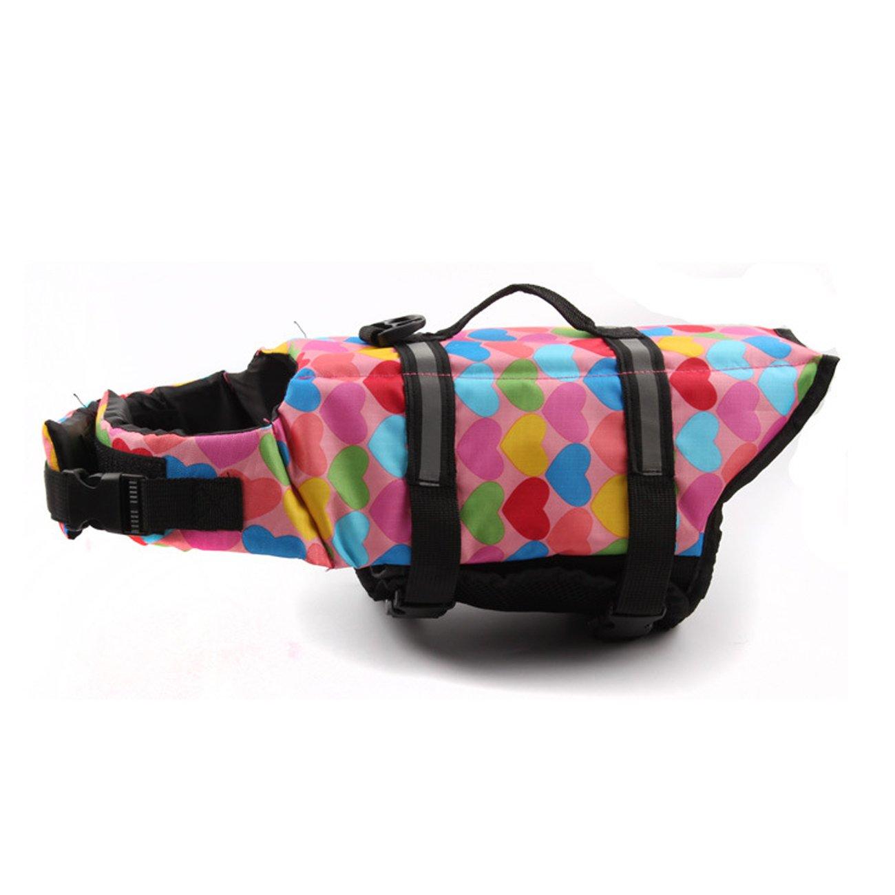 Pet Life Swimming Jacket Reflective Dog Prevent Loss Adjustable Saver Ruffwer Carrier Preserver Shark Vest