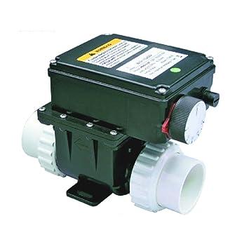 Calefactor eléctrico, calentador 230 V, 3 kW regulable 0 - 45 °C para