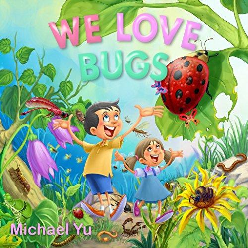 WE LOVE BUGS: Books for Kids (Preschool Halloween Activities Math)