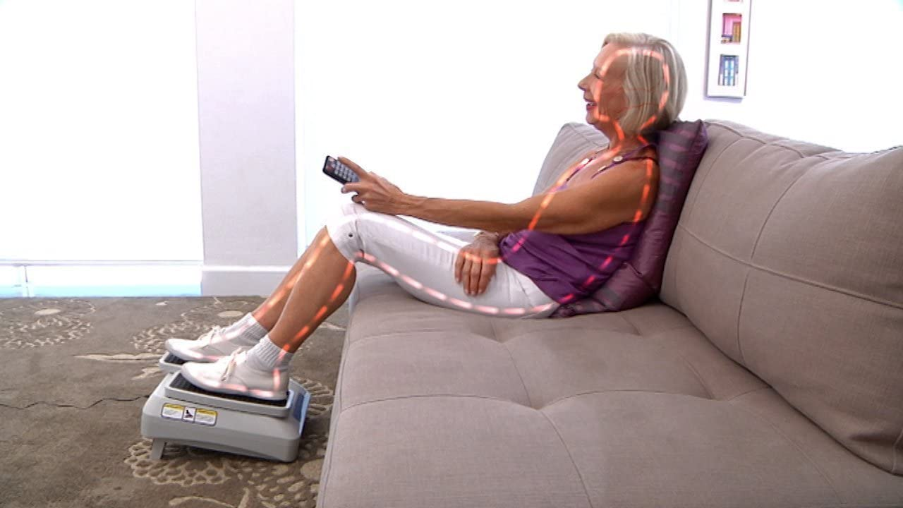 Ejercitador de piernas pasivo