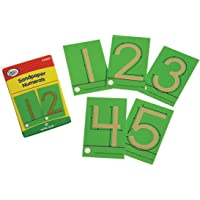 Didax Educational Resources Sandpaper Numerals