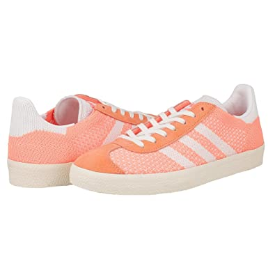 reputable site 608e5 41142 Amazon.com  adidas Gazelle Sun Glow WMNS BB5211 US Womens Size 7 White   Fashion Sneakers