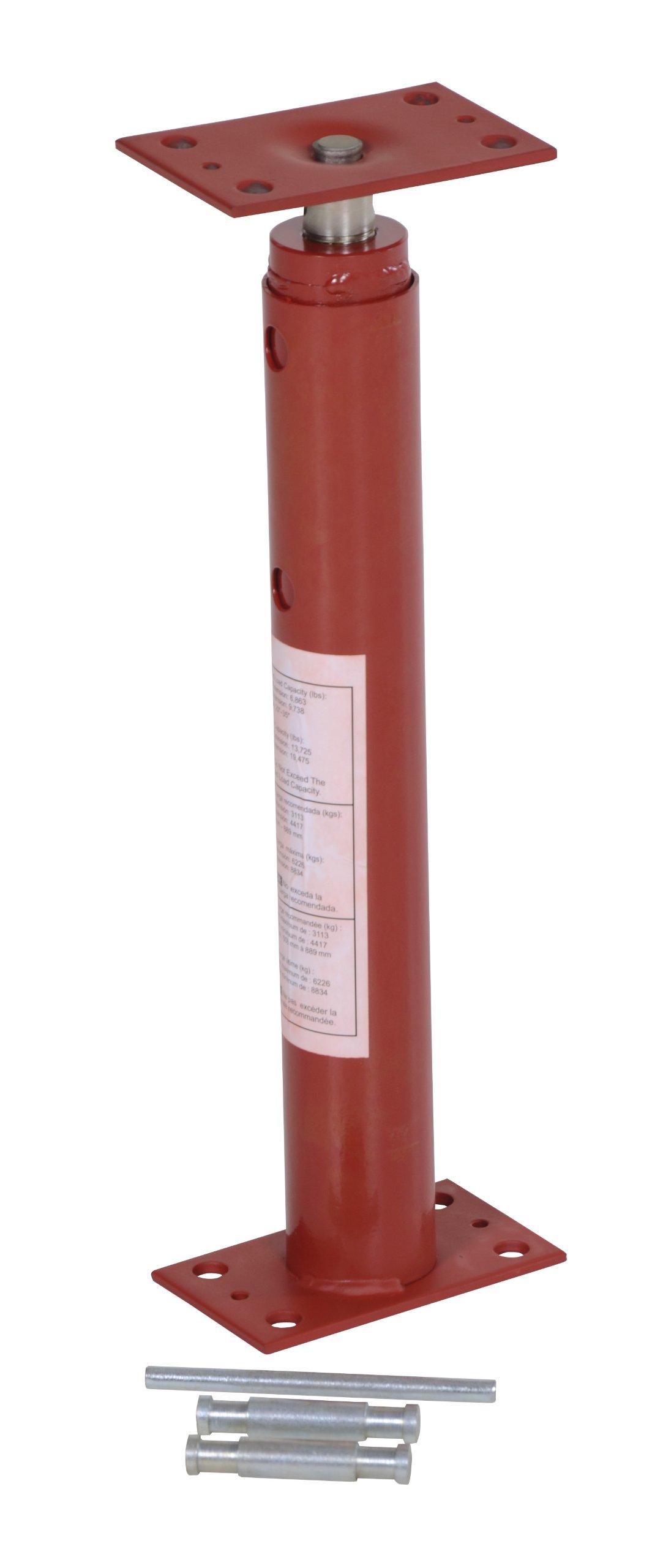 Vestil FJB-36 Basement Floor Jack, 19'' - 36'' Height Range, Maximum Height Capacity (lbs.) 6863, Minimum Height Capacity (lbs.) 9738 by Vestil (Image #4)