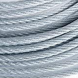 3/4 6x19 (200 Feet) Galvanized Wire Rope Steel Cable IWRC