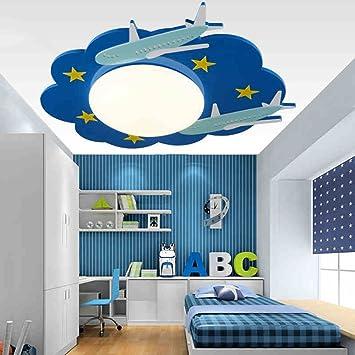 QiangDa Moderne Minimalist Kreative Flugzeug Licht Cartoon  LED Augenschutz Deckenleuchte Kinder Schlafzimmer Boy Schlafzimmer