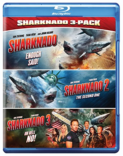 Blu-ray : Sharknado Triple Feature (Dolby, AC-3, Widescreen, 3 Disc)