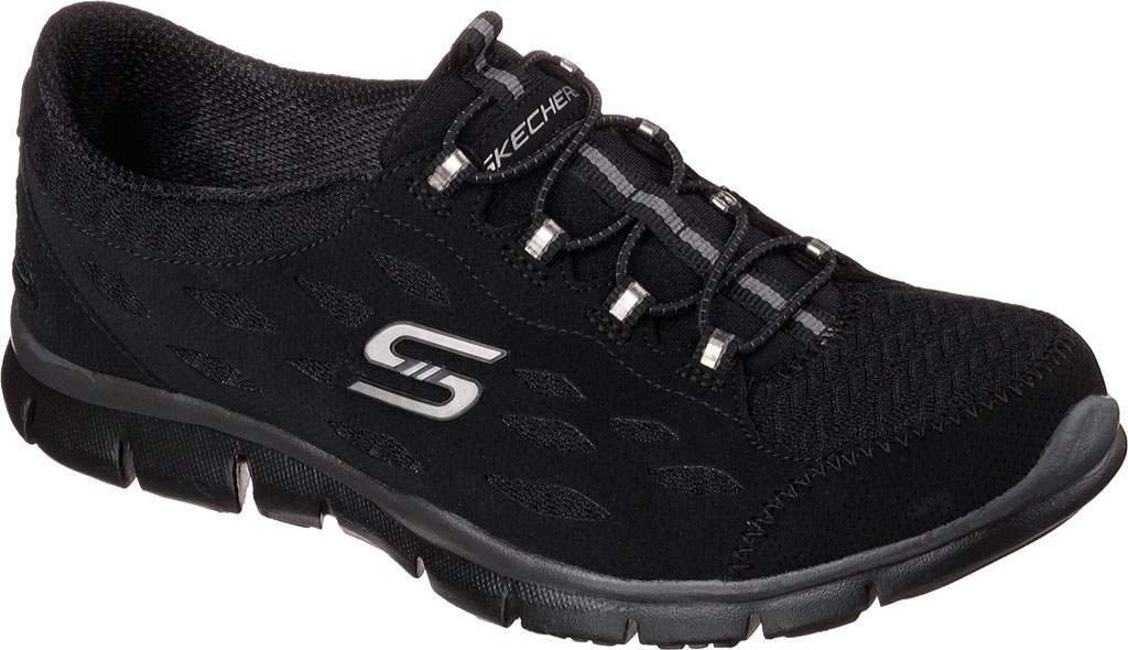 Skechers Gratis 22758-Bbk, Zapatillas para Mujer 40 EU|Negro - Negro