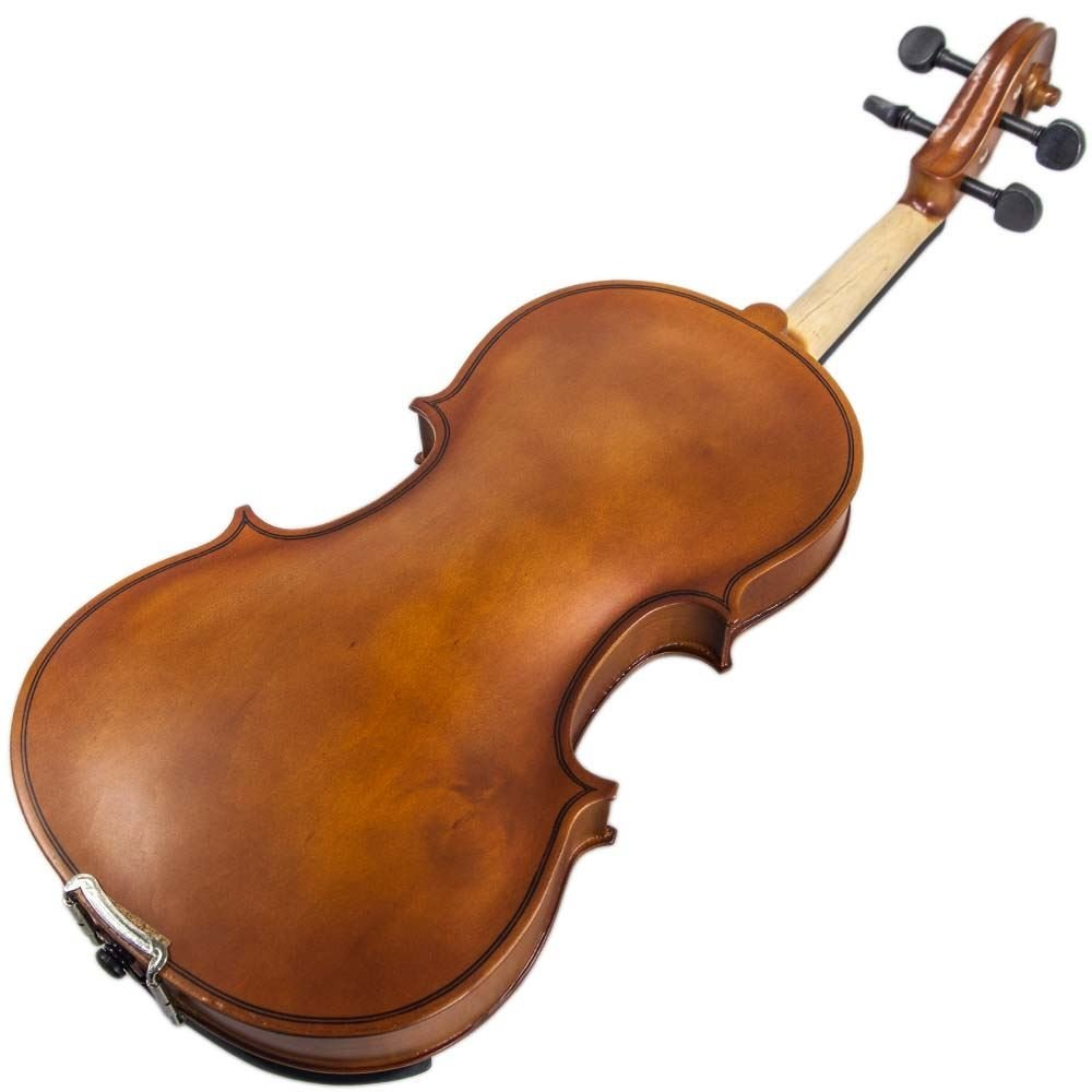 Paititi 1/2 Size Artist-100 Student Violin Starter Kit with Brazilwood Bow Lightweight Case, Shoulder Rest, Extra Strings and Rosin