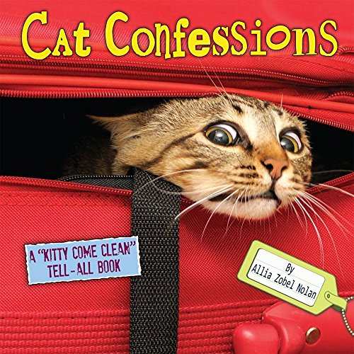 "Cat Confessions: A ""Kitty-Come-Clean Tell-All Book"" cover"