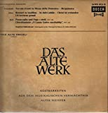 Sweelinck / Frescobaldi / Rossi / Scarlatti: [Works for] Virginal and Cembalo (Das Alte Werk)