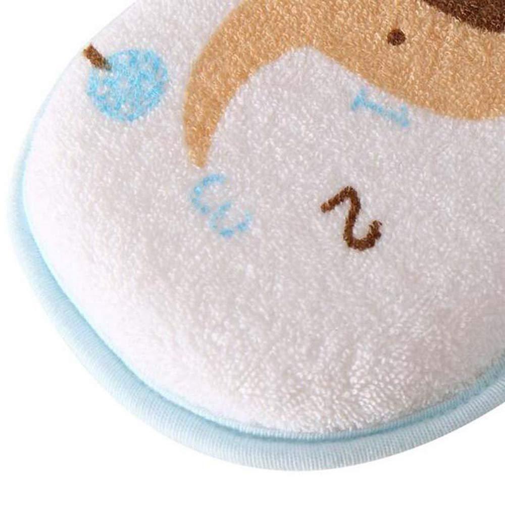 Ogquaton 1 ST/ÜCKE Baby Badeschwamm Infant Dusche Badeb/ürste Weiche Reiner Baumwolle Baby Bad Schaum Reiben Dusche Schwamm Elefant Muster