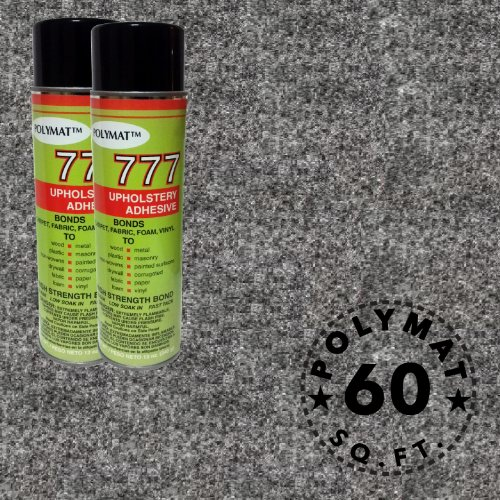 Polymat 2 cans 12 oz ea 777 Glue+ 15ft * 48