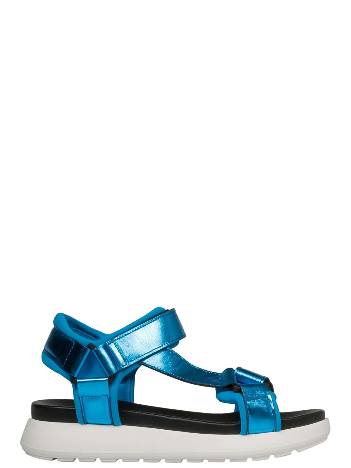 - P.A.R.O.S.H. Women's D070109011 bluee Synthetic Fibers Sandals
