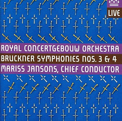 Bruckner: Symphonies Nos. 3 & 4 (Note Four Life Proof)