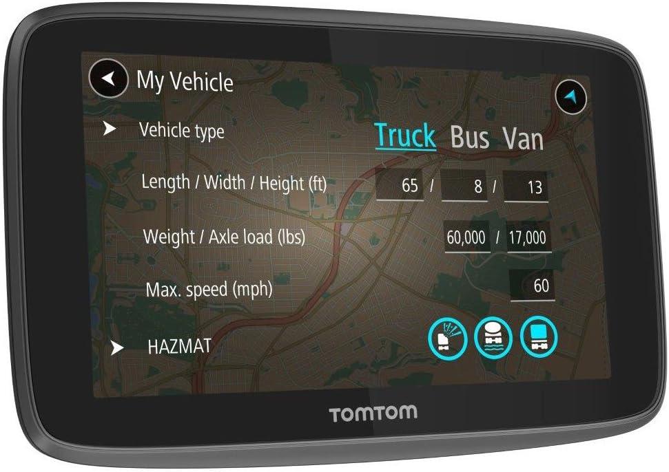 TomTom GO Professional 6200 alertas de tr/áfico y c/ámaras de seguridad Navegaci/ón de Europa