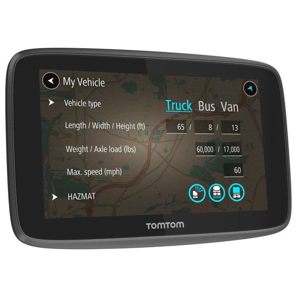 con Mappe dellEuropa TomTom GO Professional 6200 GPS con Aggiornamenti tramite Wi-Fi TomTom Traffic Telecamera di Sicurezza e Avvisi Versione UK