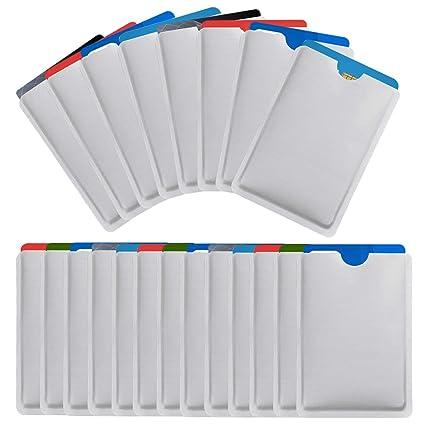 NATUCE Paquete de 25 RFDI Blocker Card, Protectores para ...