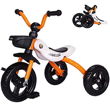 ZNN Baby Balance Bike: Andador portátil Plegable de 3 Ruedas ...