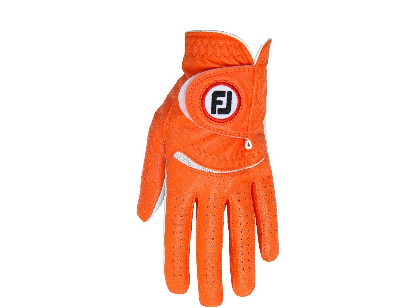 FootJoy Spectrumメンズゴルフグローブ左( Fits on Left Hand ) – オレンジCadet ML   B00IIOCY54