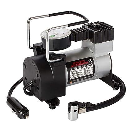 Inflador Neumático Adaptador De Válvula De Luz LED De Compresor De Aire Portátil De Bomba De