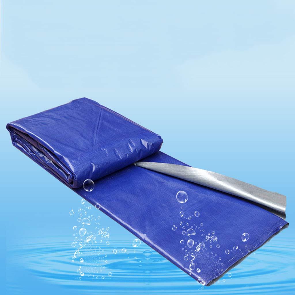 TDLX Blauer Wasserdichter Planensonnenschirmplastikstoff große Größe (größe : : (größe 4  30m) b91674