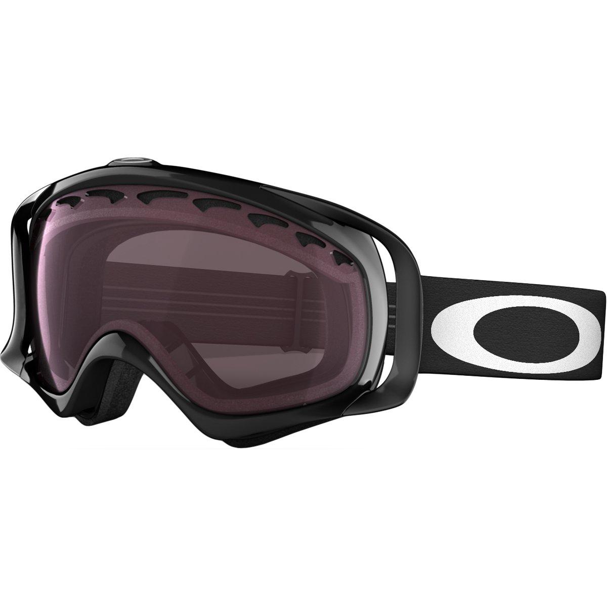 Interplas Unisex-Erwachsene Crowbar Skibrille, Jet Black, EL. Adjustable