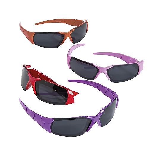 6c686e15810 Amazon.com  Fun Express - Bright Color Sunglasses - Apparel Accessories -  Eyewear - Sunglasses - 12 Pieces  Clothing