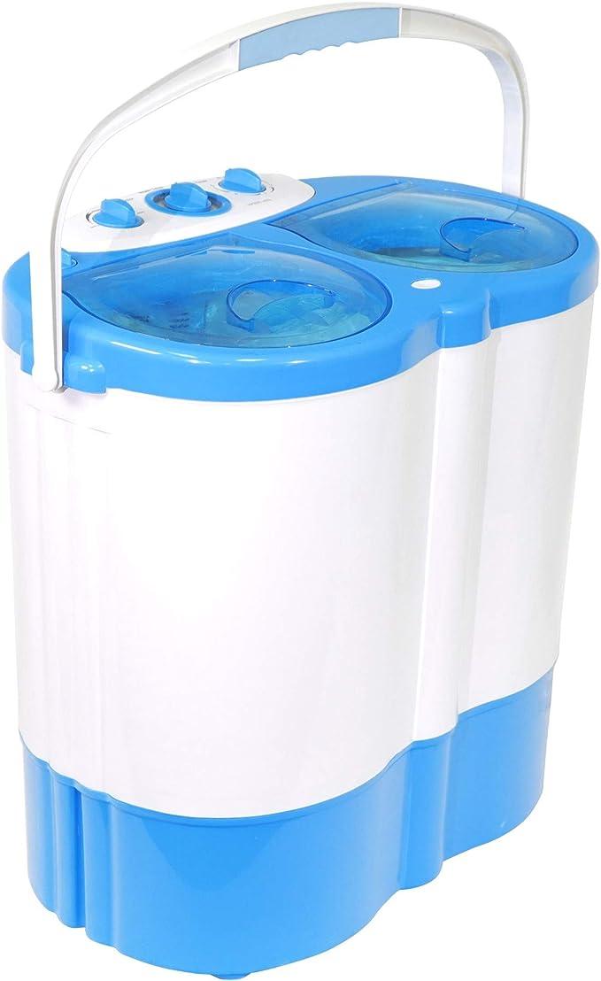 Twin Tub Portable Washing Machine Spin Dryer Camping Caravan ...