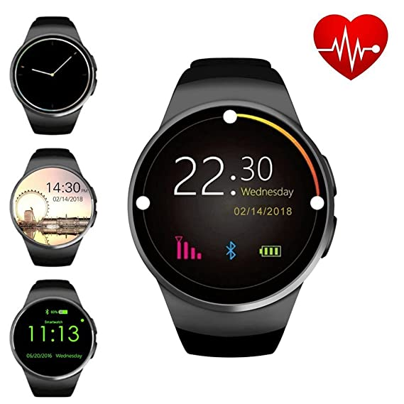 b08c35e572d3 Amazon.com  ZAOYI Bluetooth Smartwatch