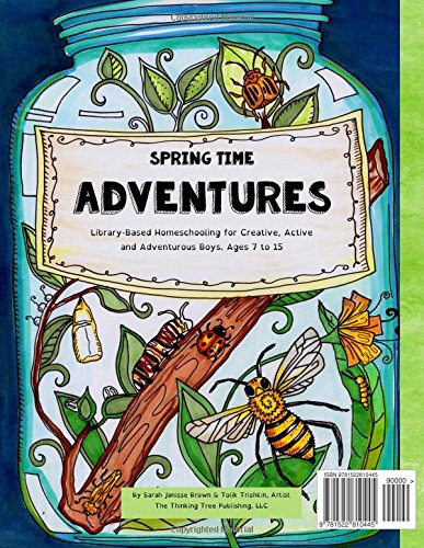 Homeschooling active boys do it yourself spring journal 3 homeschooling active boys do it yourself spring journal 3 month curriculum handbook library based homeschooling fun schooling with the thinking solutioingenieria Gallery