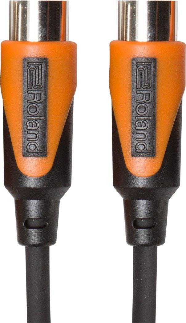 Roland 15ft MIDI Cable, Black series (RMIDI-B15)