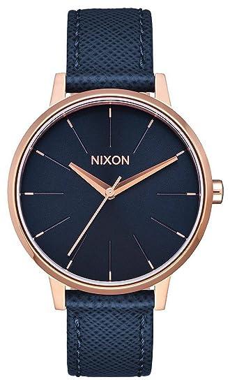 Nixon Reloj Digital para Adultos Unisex de Cuarzo con Correa en Cuero A108-2195-00: Nixon: Amazon.es: Relojes