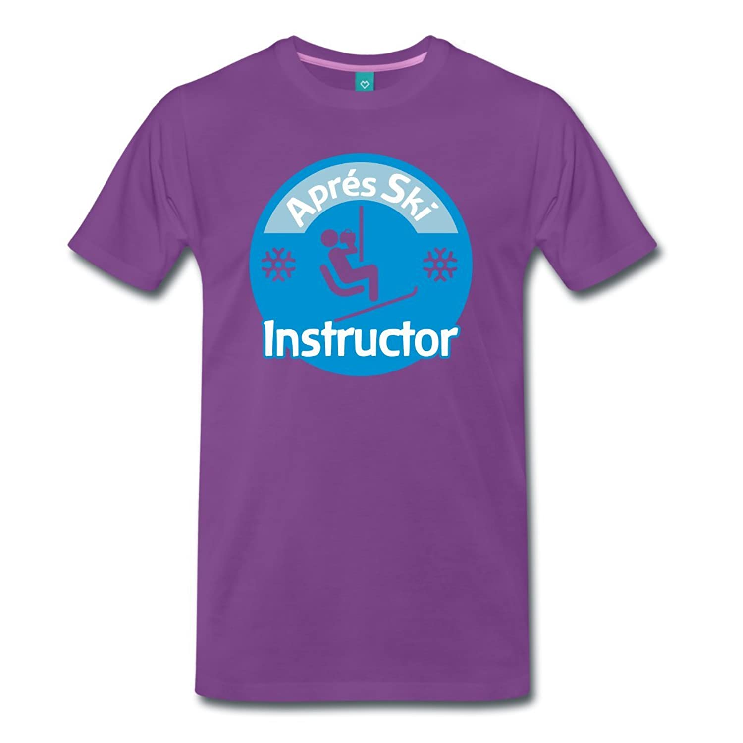 Aprés Ski Instructor Männer Premium T-Shirt von Spreadshirt®‎‎