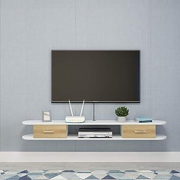 Mobile TV a Parete Mensola a Muro con cassetti Camera da ...