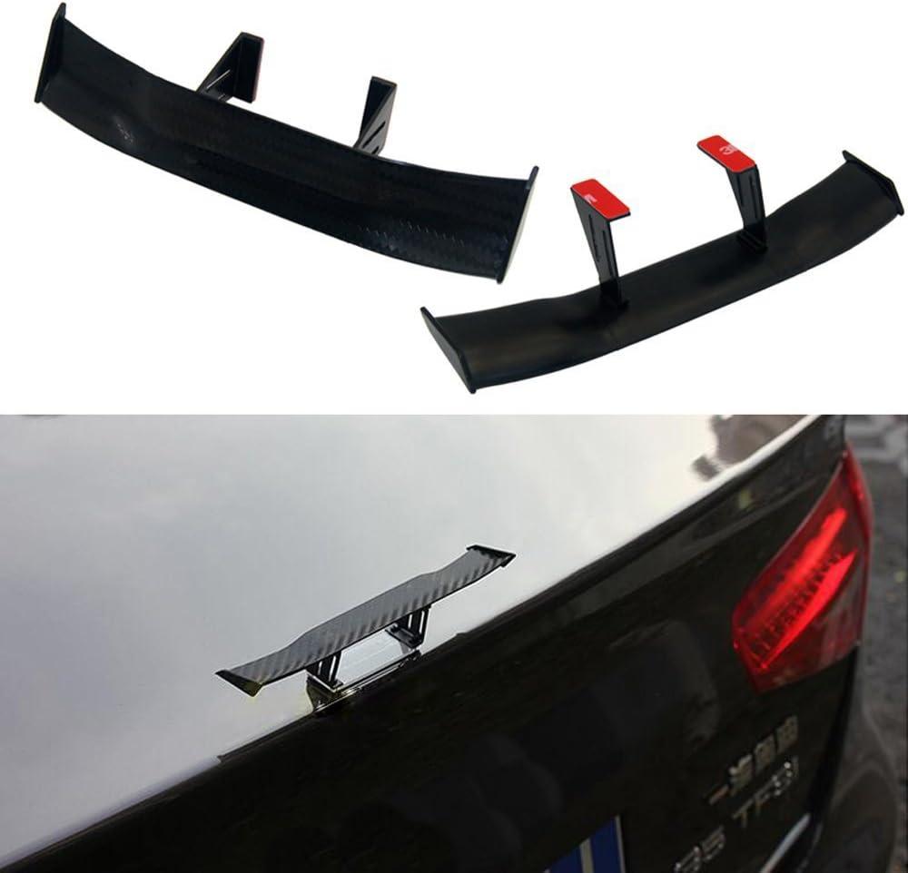 TOOGOO Auto Parts Modified Mini Black Spoiler Personality Decorative Spoiler Tail Decoration